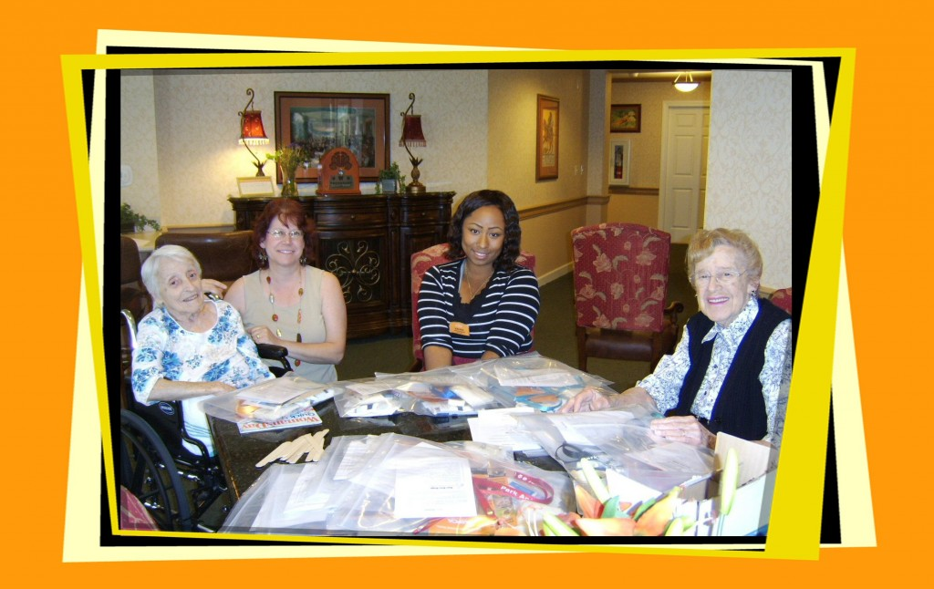From Left to Right: Virginia, Gail, Madria & Terry